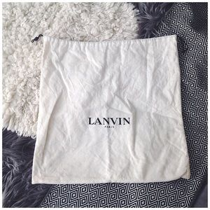 Lanvin Drawstring Medium Dust Bag Tote